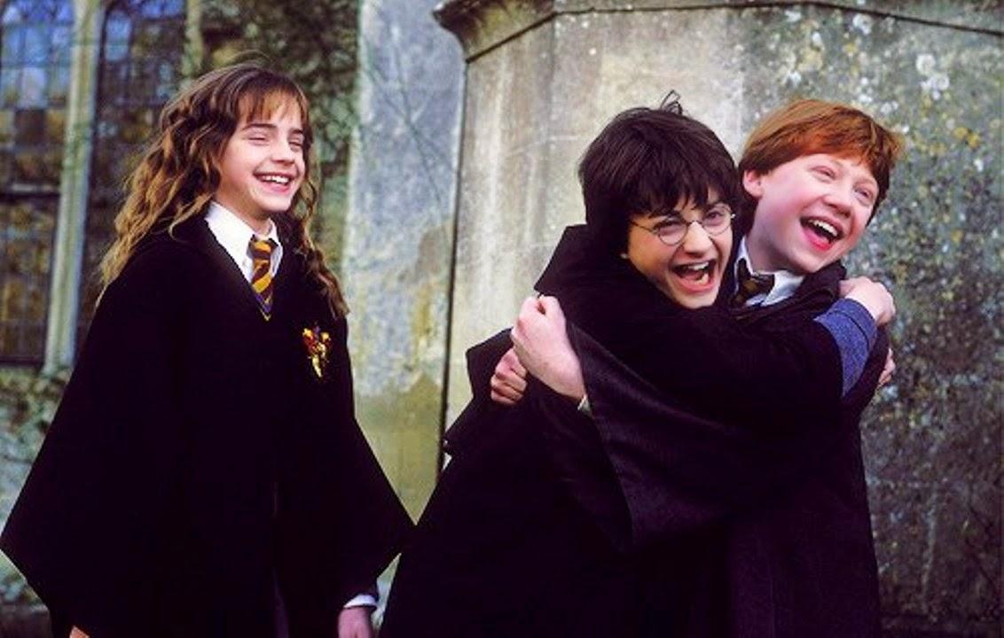 Resultado de imagem para harry potter golden trio