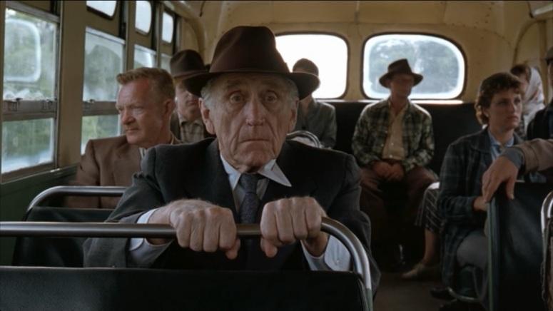 Resultado de imagem para the shawshank redemption brooks bus