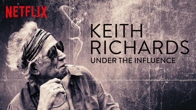Resultado de imagem para keith richards under the influence